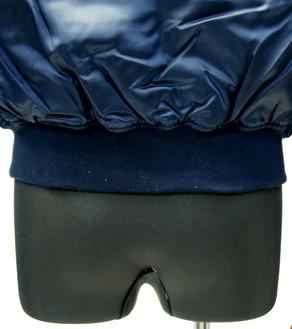 後ろ側の裾口リブ