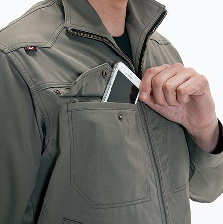 大型収納ポケット