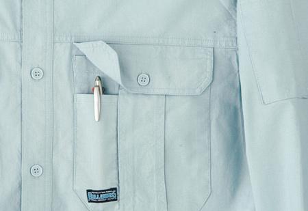 ペンさし付・胸ポケット
