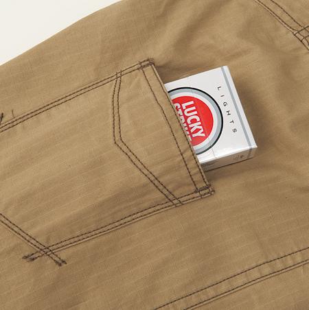 袖ポケット(マジックテープ付)