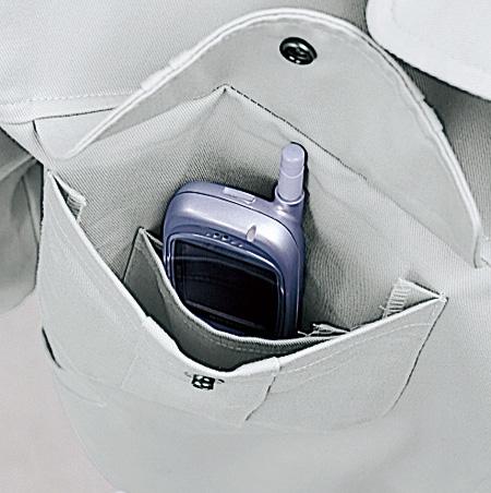 携帯電話インナーポケット