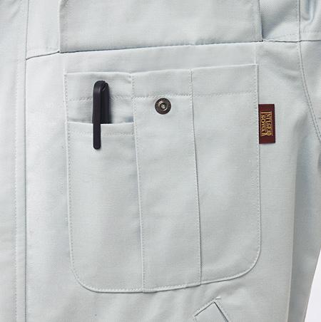 ペンさし付ポケット