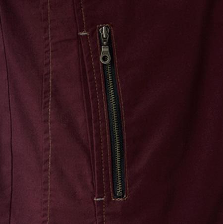 両脇ポケット(右側ファスナー仕様)