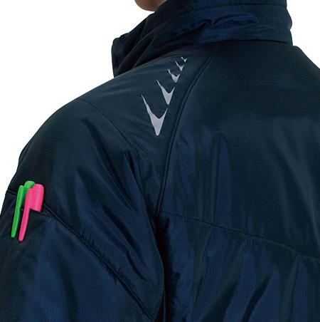 袖ペンポケット・左肩リフレクタープリント