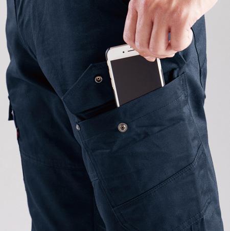 スマホ収納ポケット(左)