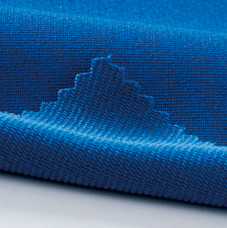 裏綿ツイル素材(導電繊維混入)
