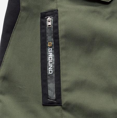 9.脇ファスナーポケット