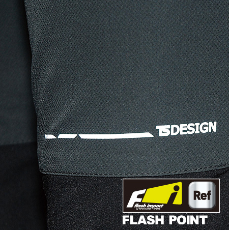 フラッシュインパクト(反射機能)付の安全設計。