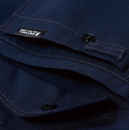 胸2重ポケット