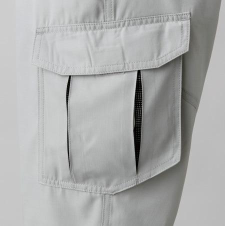 カーゴプリーツポケット