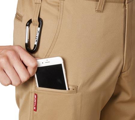 スマートフォン収納ポケット/両脇ツインループ