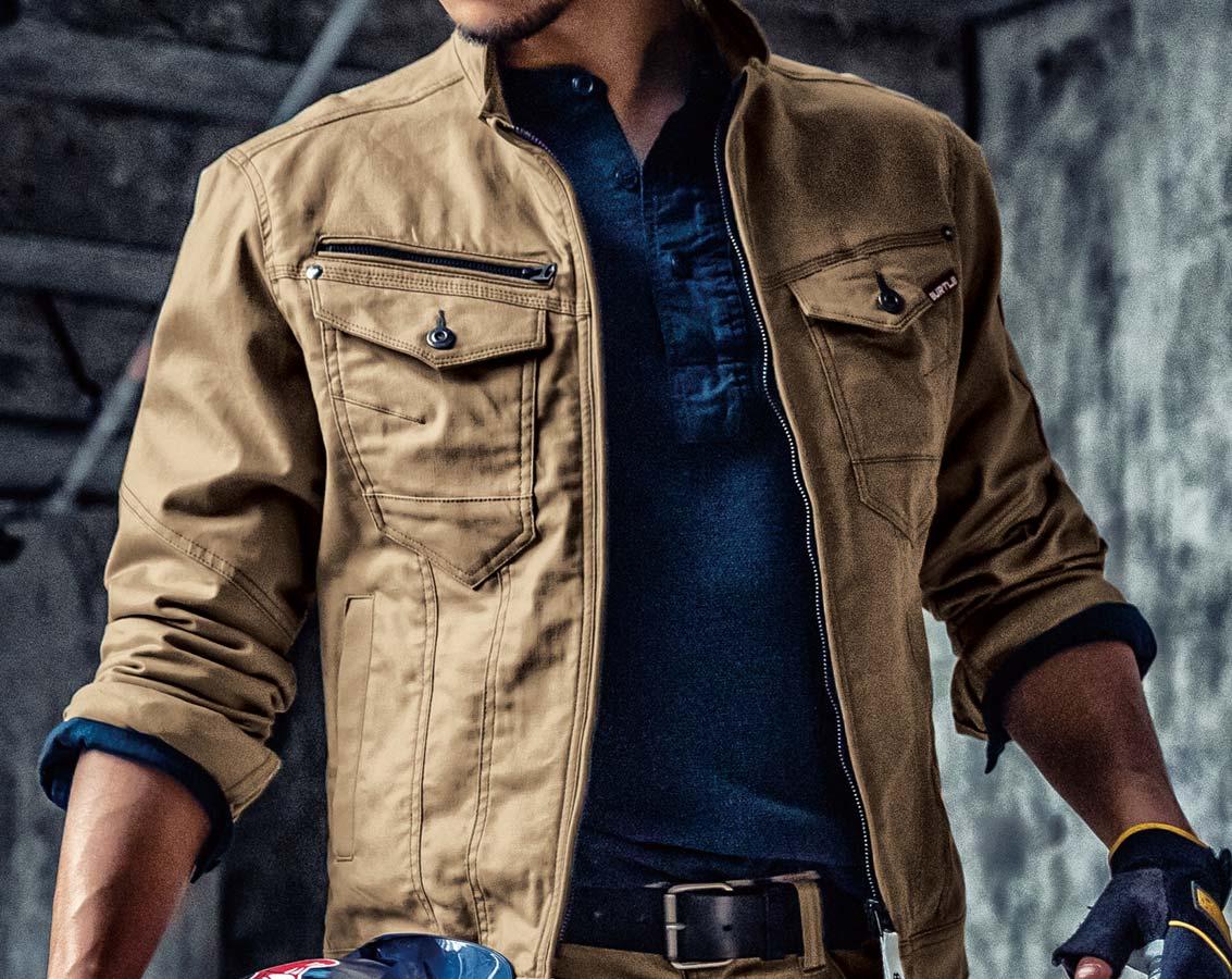 バートル541 BURTLEストレッチ長袖ジャケット