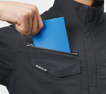 レベルブック収納ポケット(右:深さ21�)