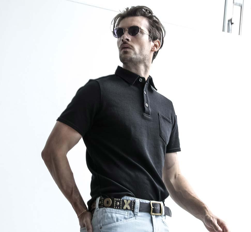 イーブンリバー HY12 EVENRIVER オニカノコ半袖ポロシャツ