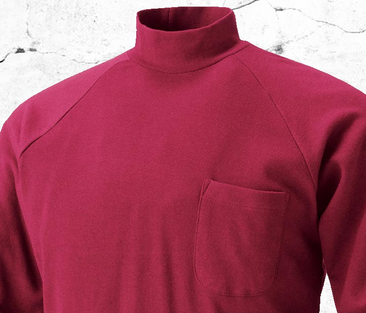 HOOH 201 鳳皇長袖ハイネックシャツ