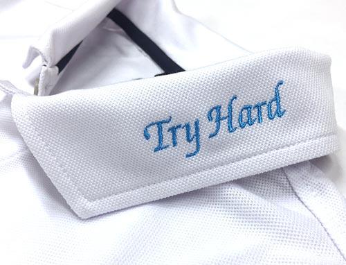 ポロシャツ衿