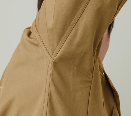 袖立体縫製