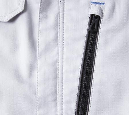 左胸ファスナー隠し/左胸ファスナーポケット
