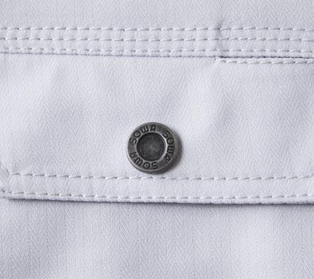 オリジナルドットボタン/右胸ポケット