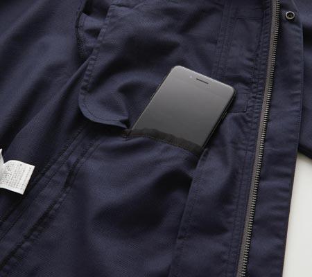 内側内ポケット