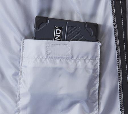 バッテリーポケット
