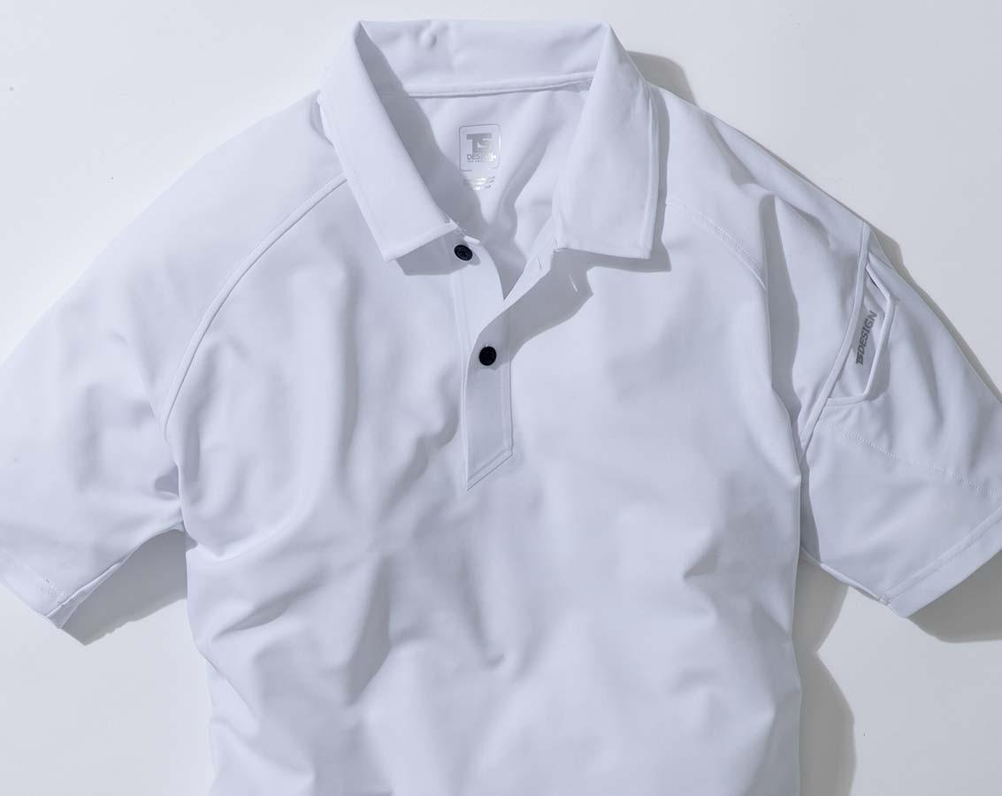 クールアイス半袖ポロシャツ