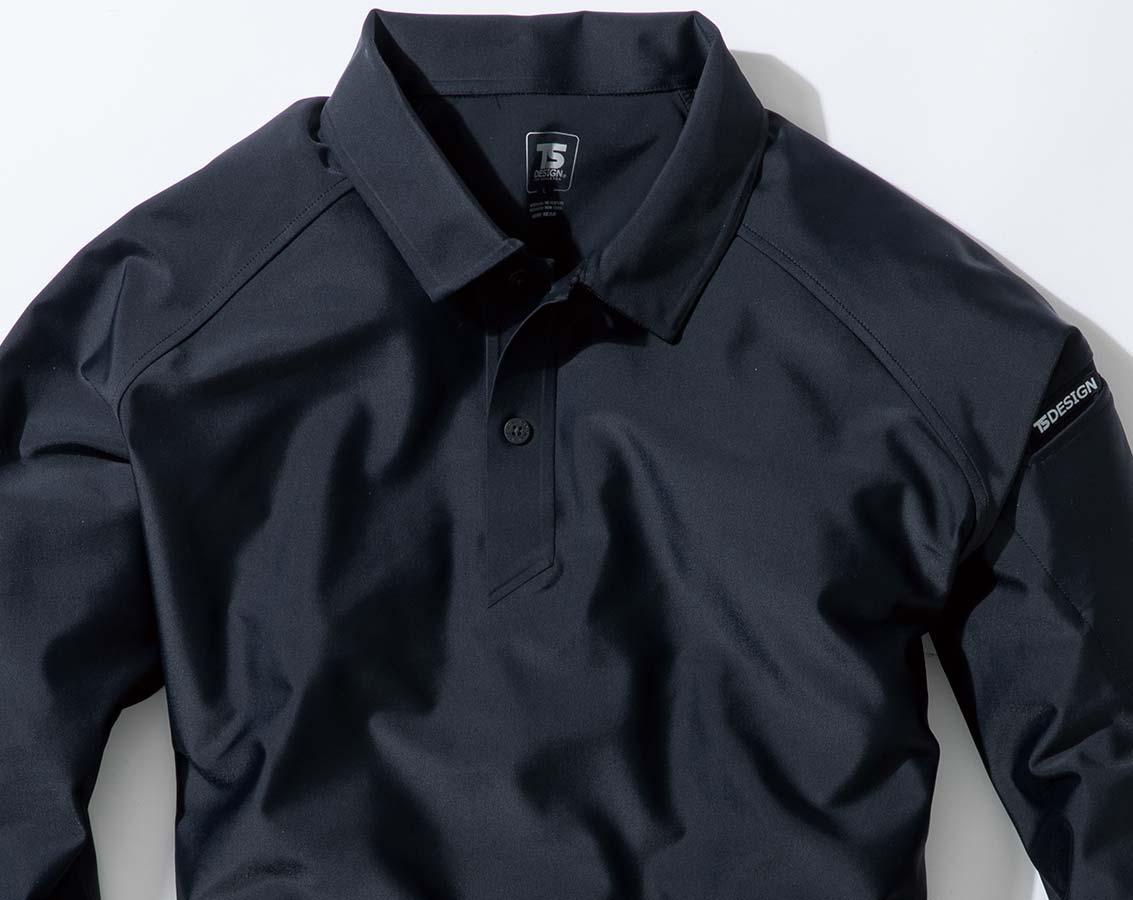クールアイス長袖ポロシャツ